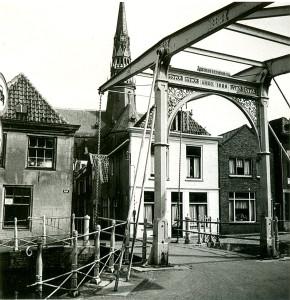 Historische bruggen van Gouda - de Brigittenbrug