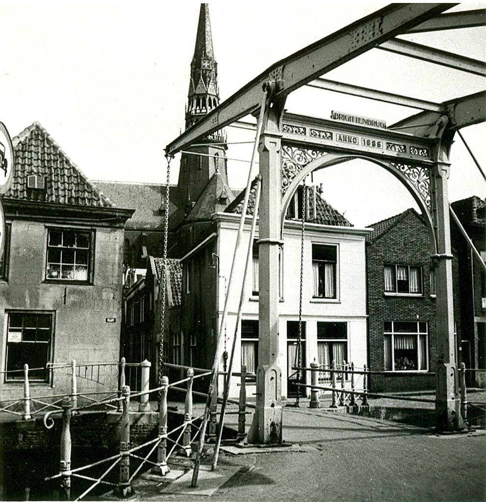 Historische brug de Brigittenbrug
