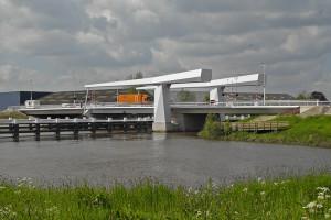 Gouderaksebrug één van de bruggen in Gouda