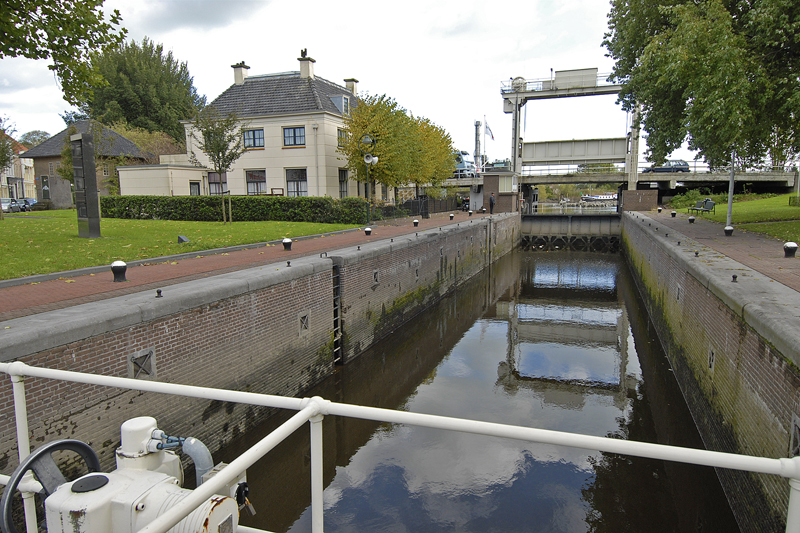 Mallegatsluis anno 2012 gezien in de richting van de IJssel