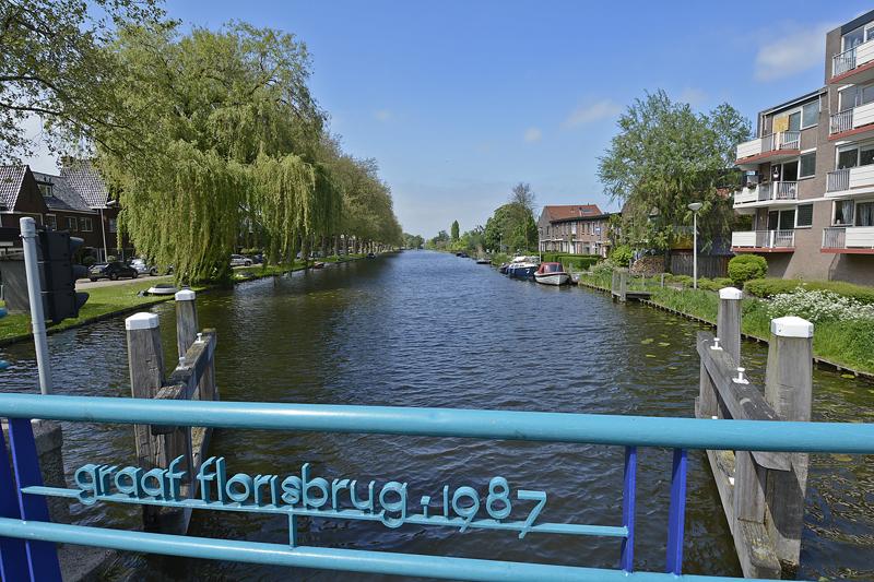 Breevaart vanaf Graaf Florisbrug