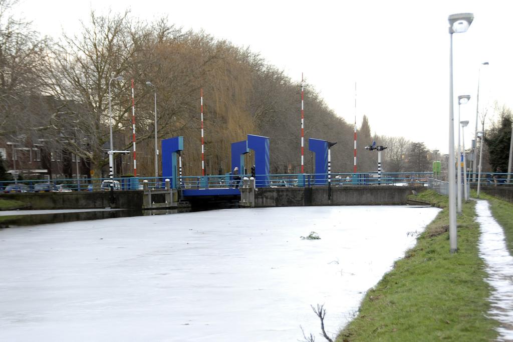 De Graaf Florisbrug gezien vanaf de Noordelijke Steynkade