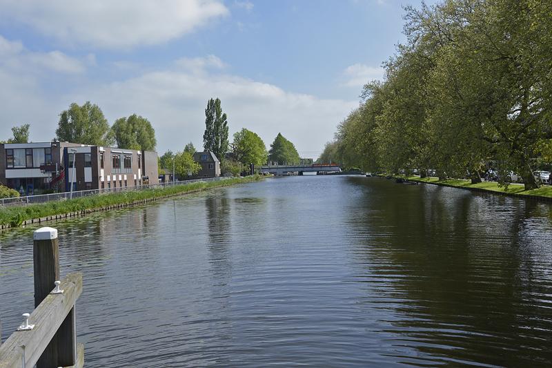 Breevaart vanaf Graag Florisbrug